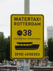Sign Watertaxi